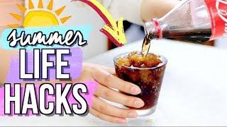Cool DIY Life Hacks for Summer | JENerationDIY