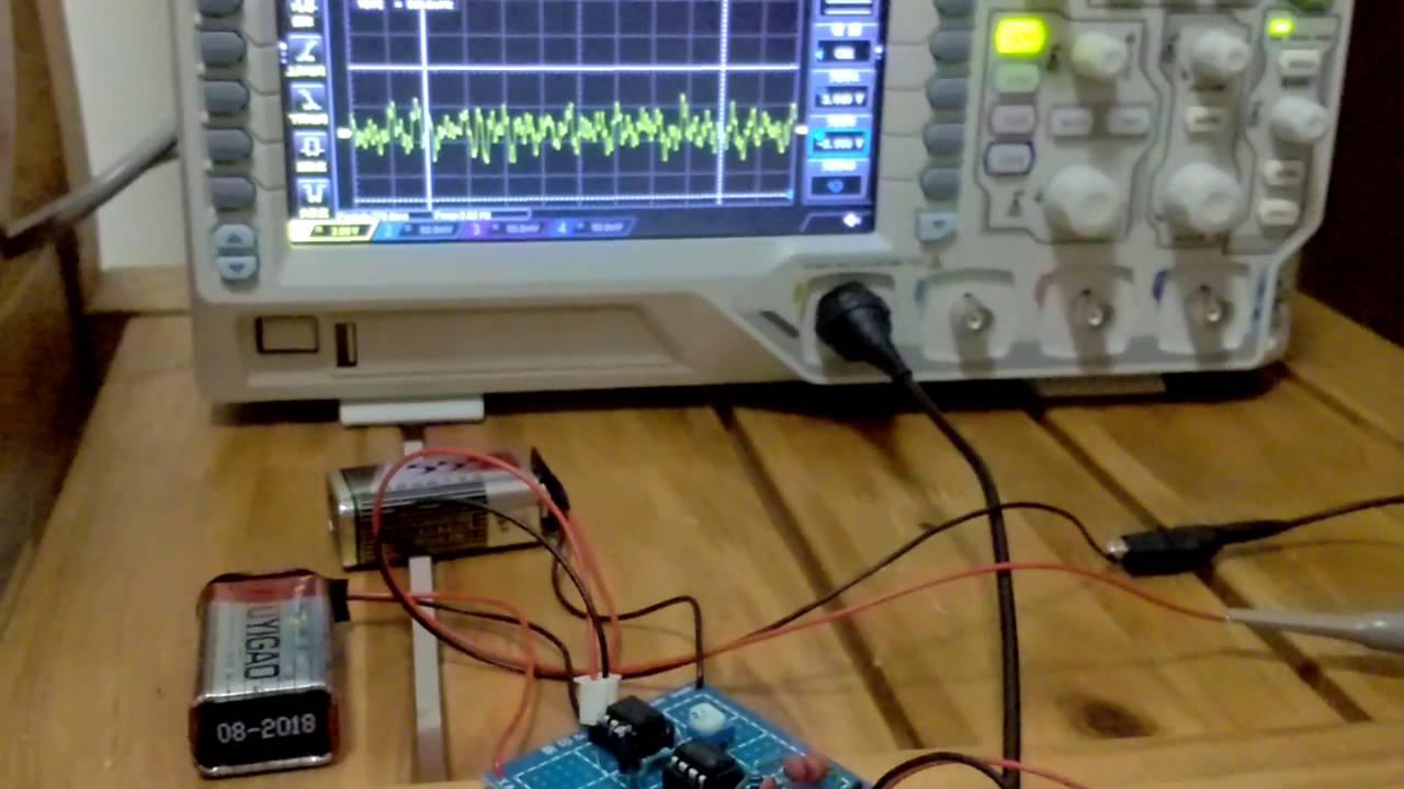 my EEG circuit - YouTube