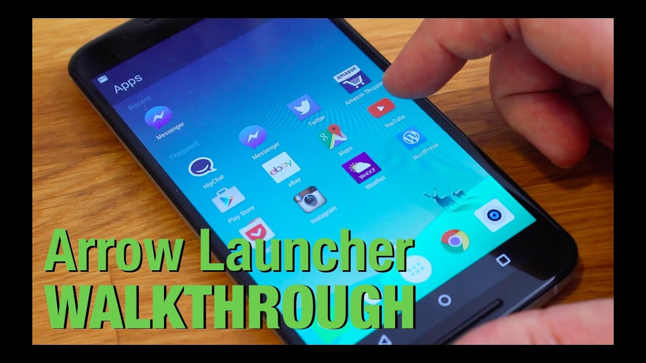 Microsoft android smartphone - Microsoft Arrow Launcher For Android Quick Tour