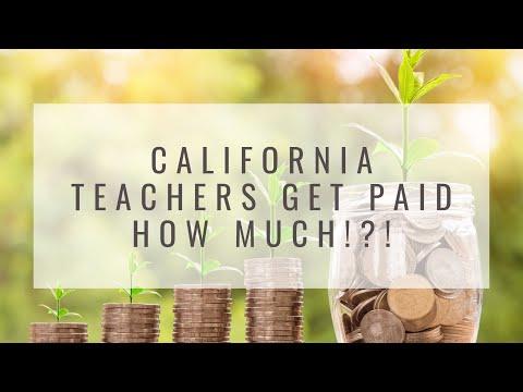 California Teachers Get Paid How Much!?!