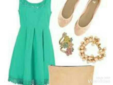 Out Fits Color Verde Menta
