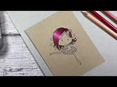 LDRS - Tutorial Prismacolor pencils on kraft paper