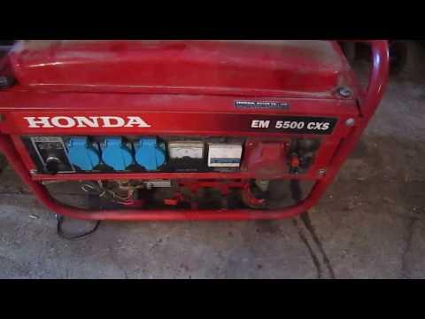 Генератор Honda, не оригинал, как не купить подделку