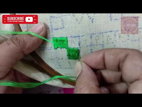 Phulkari Stitch Design   Sarbjit Embroidery Designs