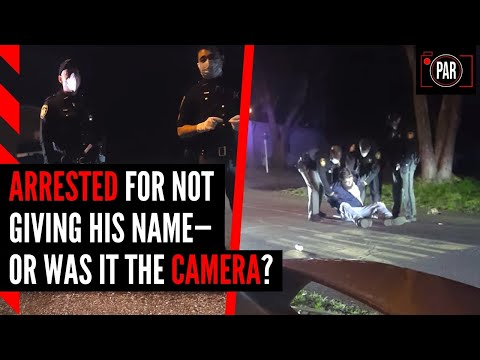 Filming the police is legal, but that doesn't stop them from arresting people for it