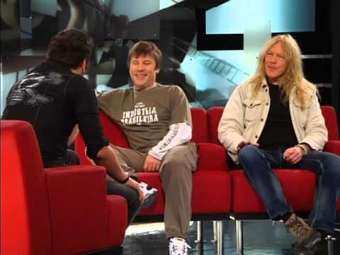 Iron Maiden's Bruce Dickinson and Janick Gers: Interview