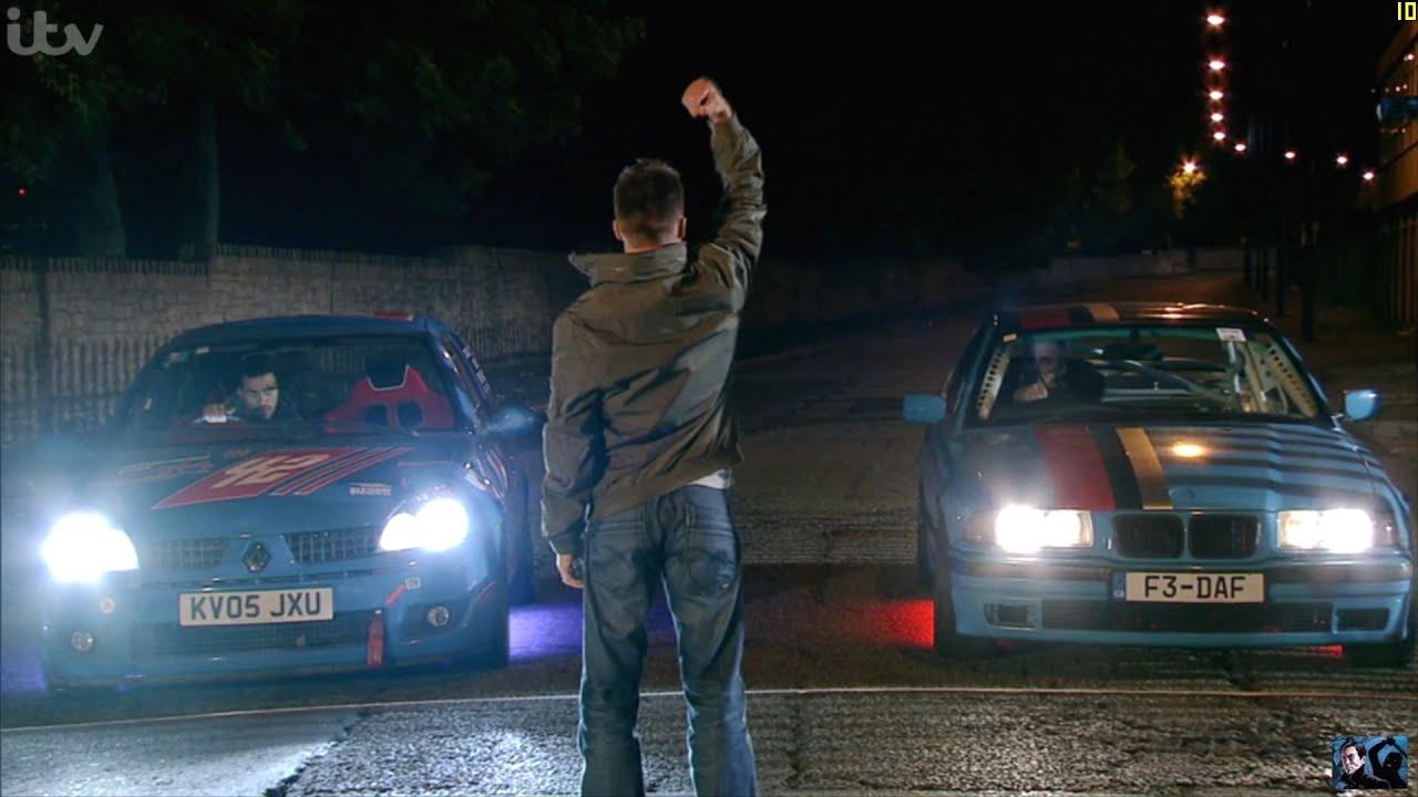 Coronation Street - Luke Enters An Illegal Car Race - YouTube