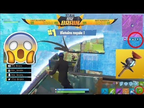 FAIRE TOP 1 AVEC LA NOUVELLE GRENADE COLLANTE !!! EPIC REACTION OMG...