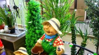 Искусственные цветы спб купить декоративные для интерьера квартиры ландшафта сада дачи дома(, 2015-04-29T16:33:58.000Z)