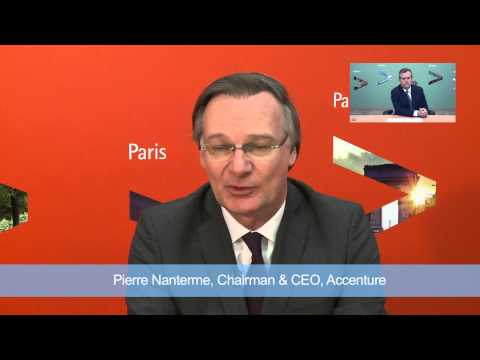 Accenture's CEO Pierre Nanterme & CFO David Rowland Interview by Leaders League Group