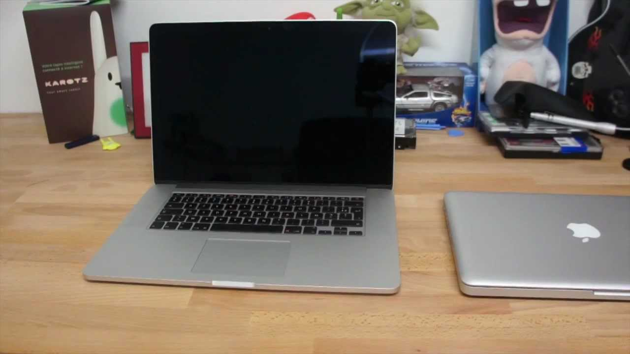 presentation macbook pro 15 pouce retina de chez apple youtube. Black Bedroom Furniture Sets. Home Design Ideas