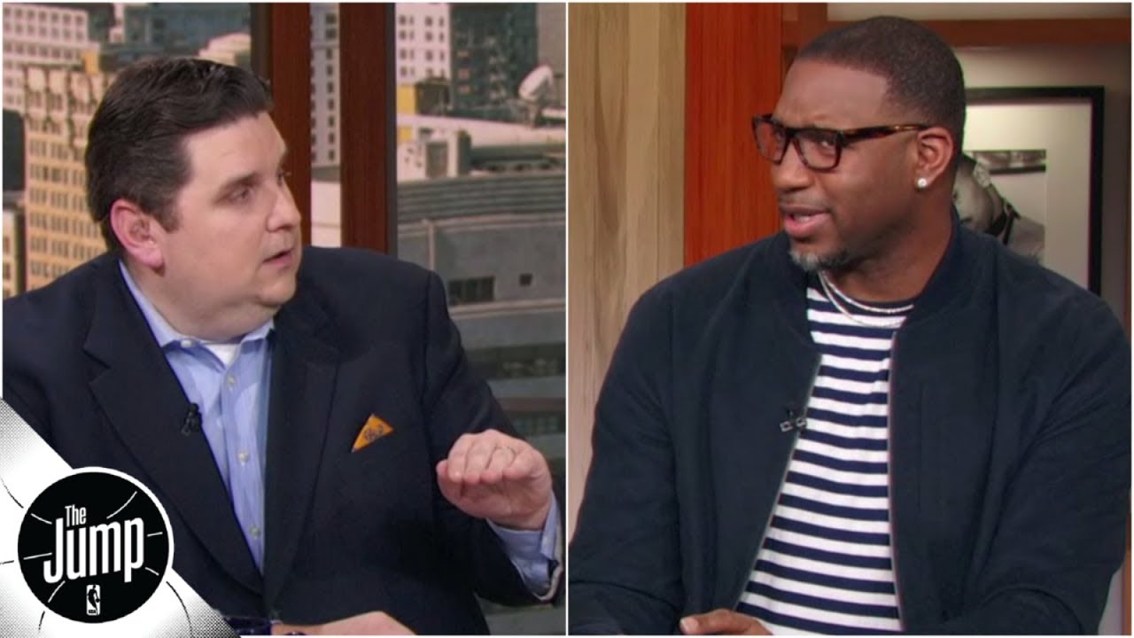 McGrady: Brian Windhorst is crazy for saying Warriors' best lineup doesn't include Boogie   The Jump