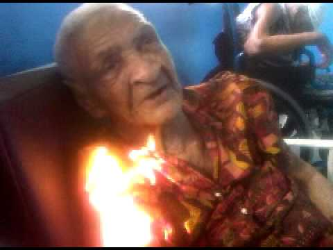 Saint Lucian Amerindian (Carib) 99 years old