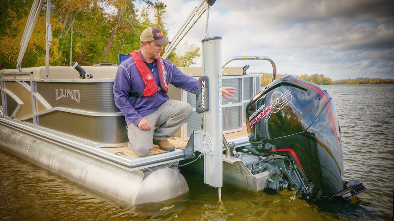 outboard engine considerations for pontoon boats youtube Pontoon Boat Wiring bassfishing wired2fish fishing
