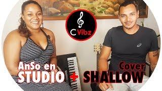 JASON REÇOIT ANSO EN STUDIO + COVER SHALLOW (LADY GAGA, A STAR IS BORN) | C VIBZ