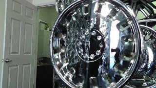 Greed - 832 - 20 x 8.5 - Chrome Rims / Wheels