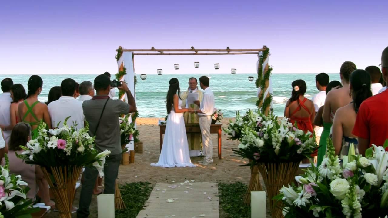 Amado Cerimônia de Casamento na Praia - Santuário de Santo Expedito  QH05