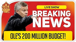 Solskjaer's 200 Million Transfer Spree! Man Utd News Now
