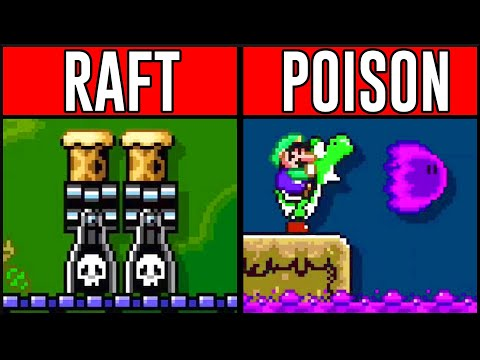 Easy Forest Ideas in Mario Maker 2!