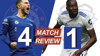 HAZARD RUNNING THE SHOW! - Chelsea vs Cardiff City (REVIEW)