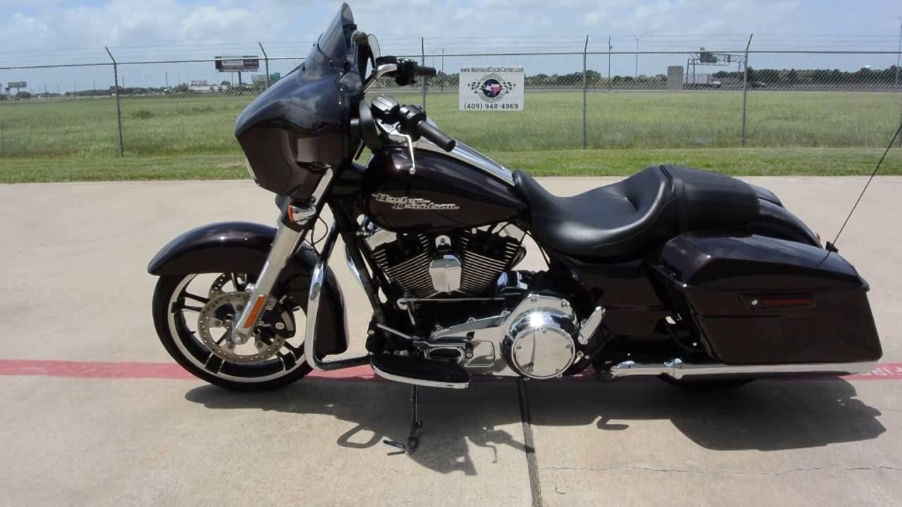 2014 Harley Davidson Street Glide >> For Sale $18,999: 2014 Harley Davidson Street Glide Special Blackened Cayenne Sunglo - YouTube