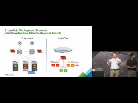 VMworld 2015 Europe: NET4995 - Integrating Physical Workloads and Infrastructure with an NSX ...