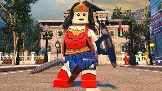 LEGO DC Super-Villains - Wonder Woman - Open World Free Roam Gameplay (PC HD) [1080p60FPS]