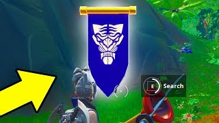 SEASON 8 WEEK 6 SECRET BANNER : Fortnite Find it in Loading Screen Secret Battle Star Replaced