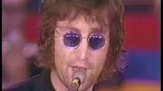 John Lennon Yoko Ono Jerry Lewis Telethon
