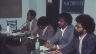 TPLF press conference in Rome 1982