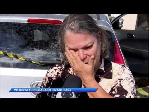 Motorista embriagado invade casa na Zona Leste de São Paulo