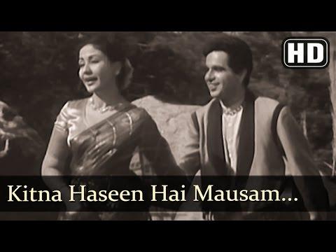 Kitna Haseen Hai Mausam - Azaad Songs - Dilip Kumar - Meena Kumari - Lata Mangeshkar - Filmigaane