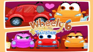 Let's Play • Wheely 6 Fairytale • For Kids, All Levels unlocked, Walkthrough levels 1 - 14