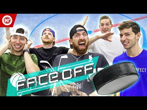 Thumbnail: Dude Perfect Hockey Skills Challenge | FACE OFF