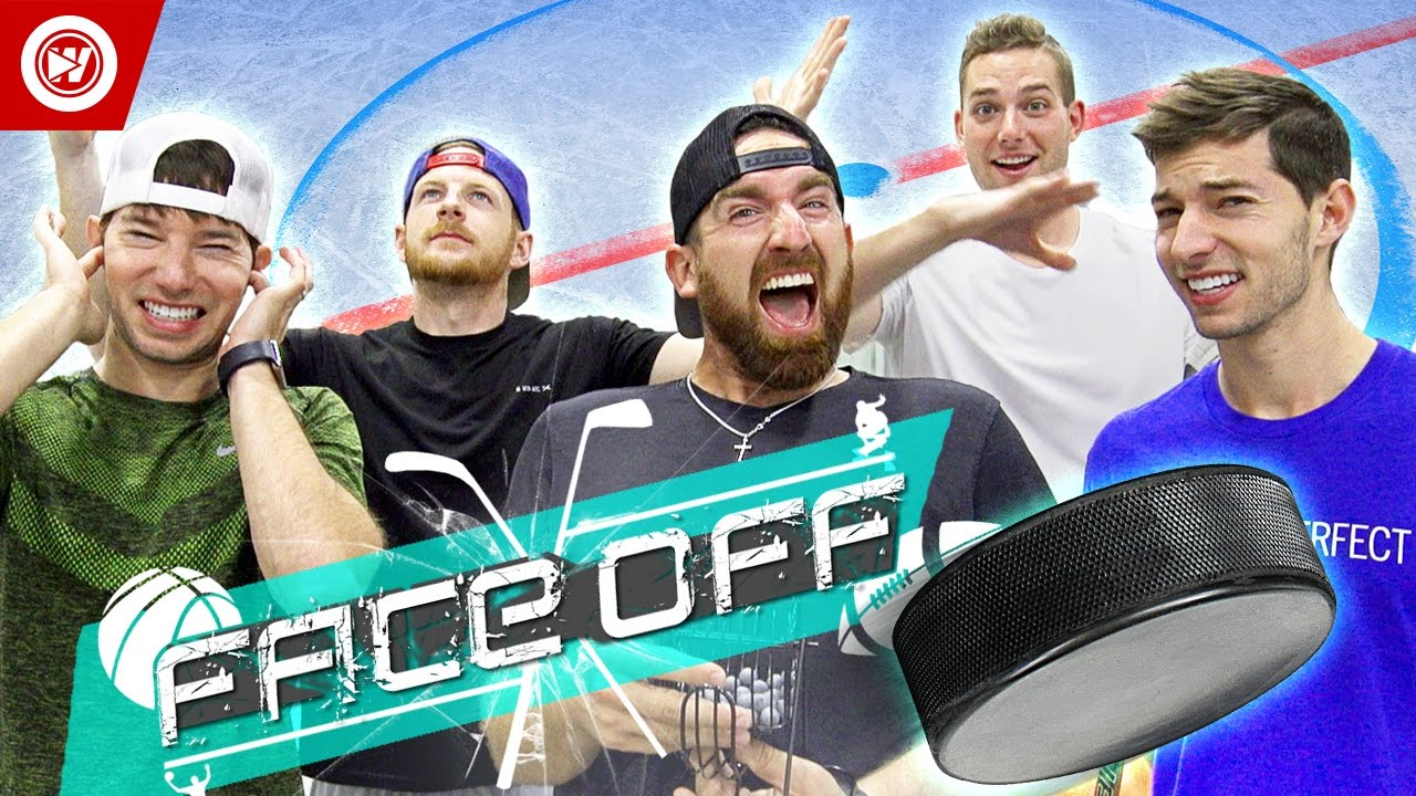 Download Dude Perfect Hockey Skills Challenge   FACE OFF