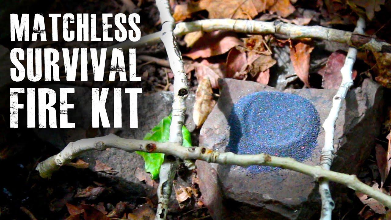 "Make a ""Matchless"" Survival Fire Kit"