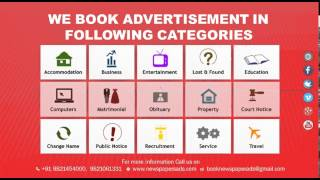Times of India Classifieds Advertisement Online Booking - NEWSPAPERS ADS rates