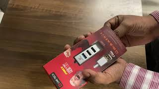 Live Tech Force 4 Port USb Hub 1 USB 3 0 amp 3 USB 2 0 Ports Budget amp Best USB Hub