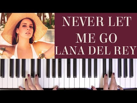 HOW TO PLAY: NEVER LET ME GO - LANA DEL REY