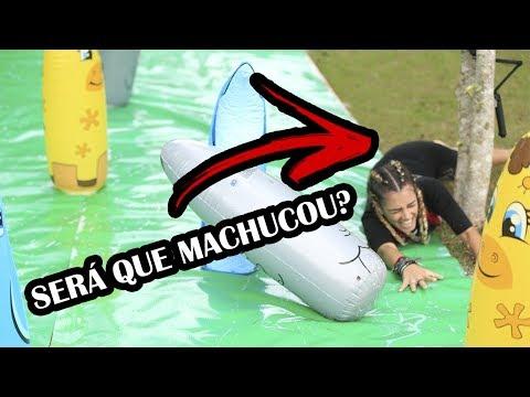 Jogos de Verão It Brazil #02 - Escorregar, Machucar e Chutar (?)