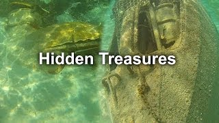 Disney Cruise Castaway Cay Snorkeling Sunken Submarine, boat, Anchor HD