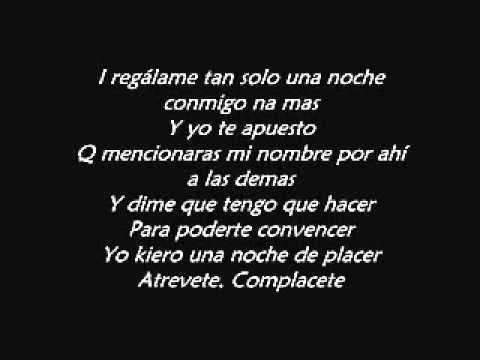 Regalame Una Noche [Remix] [Letra] - J Alvarez Ft. Arcangel 2011 & Baby  Rasta Y Gringo