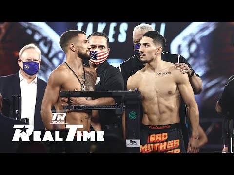 Behind-the-Scenes with Loma and Lopez at the Weigh-In   Real Time EP. 5