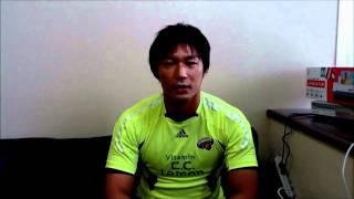 ラグビー日本代表、平浩二選手(サントリーサンゴリアス所属)インタビュ...