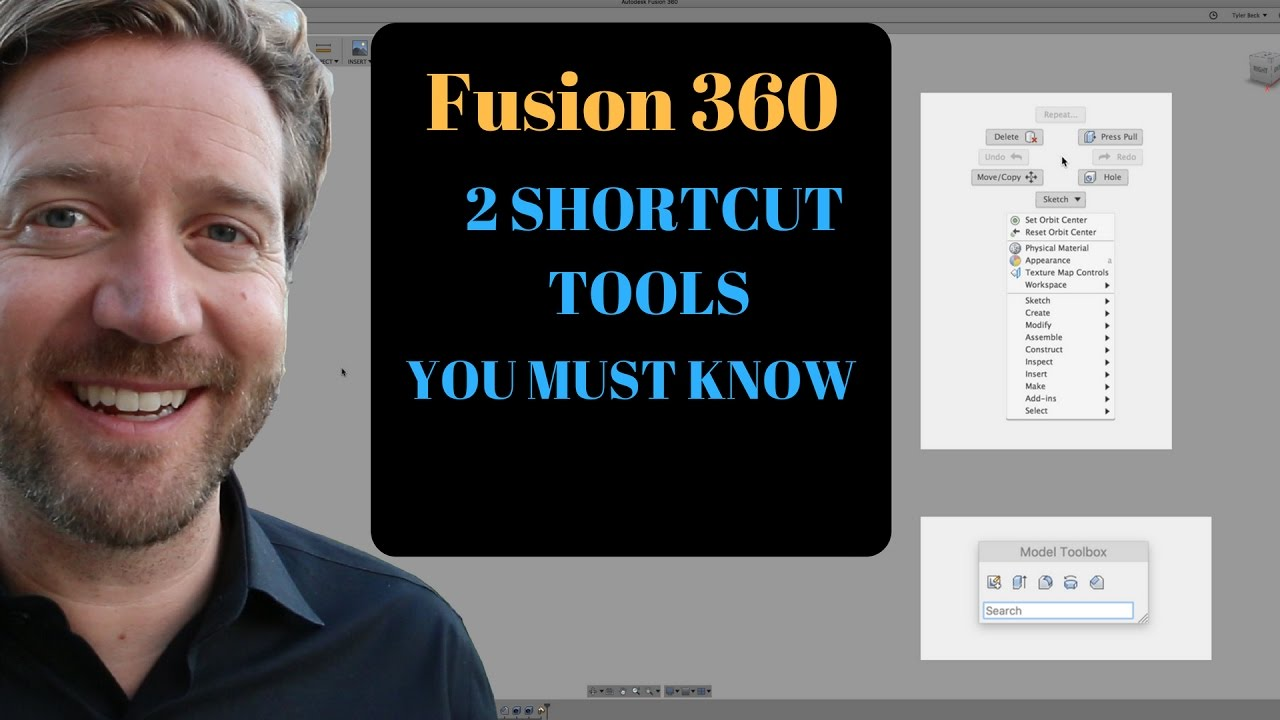 FUSION 360 - 2 SHORTCUT TOOLS YOU MUST KNOW