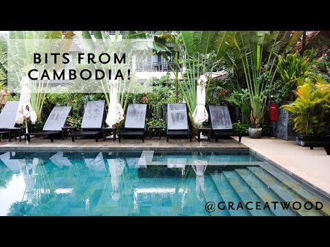Bits + Pieces from Cambodia | Grace Atwood, Travel Vlog