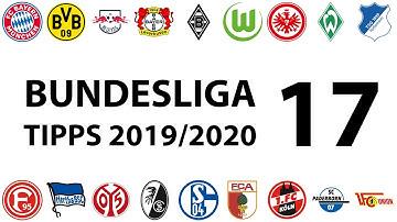Bundesligatipps 17.Spieltag 2019/2020