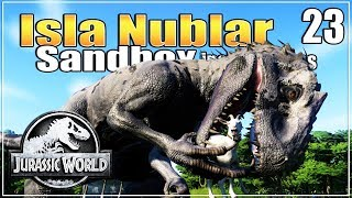 🦕 Time to add carnivores! That poor goat tho! | Jurassic World Evolution Sandbox | Ep. 23 streaming