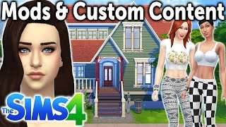 How to Install Mods & Custom Content into The Sims 4!