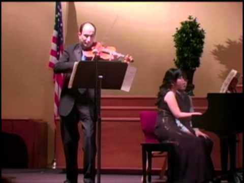David Yonan / Claude Debussy, Violin Sonata